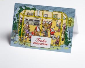 Weihnachtskarte 150374-112 Branche stationäre Pflege