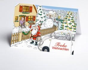 Weihnachtskarte 156539-112 Branche ambulante Pflege und Hausarzt