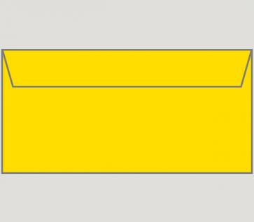 132146 Kuvert selbstklebend in gelb, DIN-lang-Format