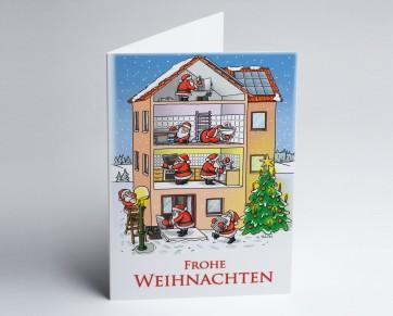 Weihnachtskarte 150206-112 Branche Hausbau