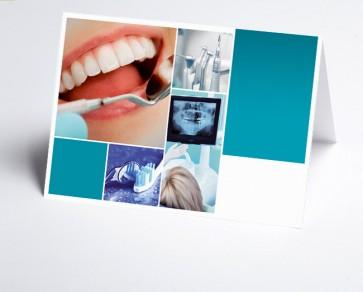 Logo-Grusskarte 150299-200 Branche Zahnarzt
