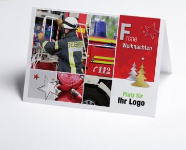 Logo-Weihnachtskarte 150302-190 Branche Feuerwehr