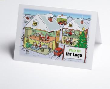 Logo-Weihnachtskarte 150306-112 Branche ambulante Pflege