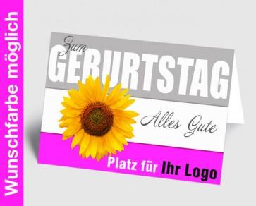 Logo-Grußkarte 150861-111 in Ihrer Wunschfarbe