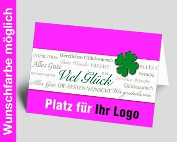 Logo-Grußkarte 150871-111 in Ihrer Wunschfarbe