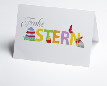 Osterkarte 150874-112  Frohe Ostern