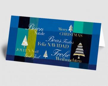 Weihnachtskarte 1518337 Kunst grafisch