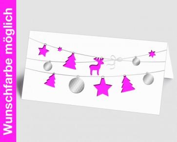 Logo-Weihnachtskarte 1518421 in Ihrer Wunschfarbe