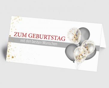 Grusskarte 1519118 Zum Geburtstag Luftballons