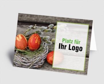 Logo-Osterkarte 1519203 Osternest