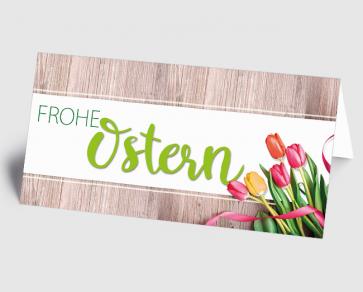Osterkarte 1520117 Tulpen Frohe Ostern