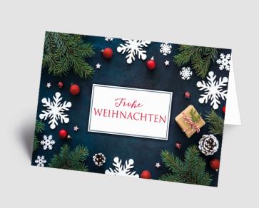 Weihnachtskarte 1521302 Weihnachtsdeko