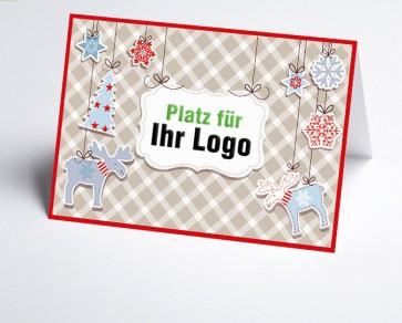 Logo-Weihnachtskarte 156520-112 Vintage