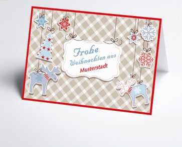 Grüße aus... Weihnachtskarte 156520-113 Vintage