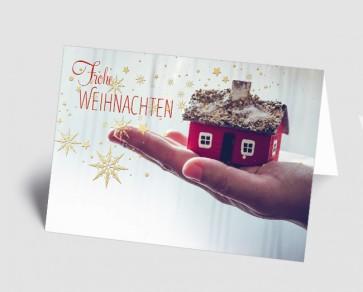 Weihnachtskarte 157504-112 Branche Pflege