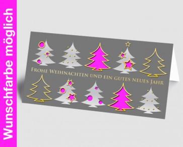 Weihnachtskarte 157507-111 in Ihrer Wunschfarbe