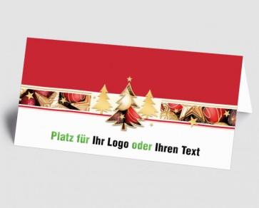 Logo-Weihnachtskarte 157508-112 Weihnachtszauber