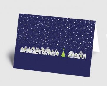 Weihnachtskarte 157518-112 Dorf