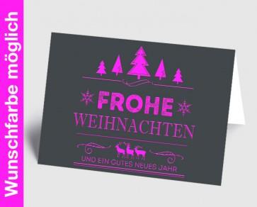 Weihnachtskarte 157526-111 in Ihrer Wunschfarbe
