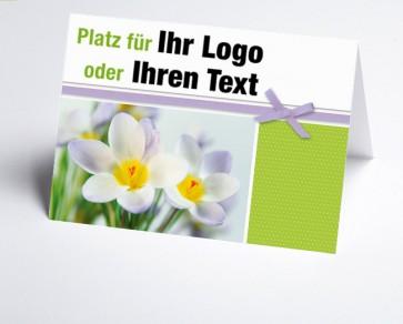 Logo-Grusskarte 157707-112 Krokus