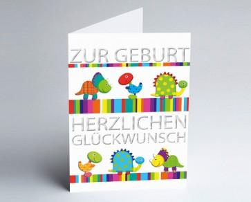Grusskarte 157720-112 Babykarte