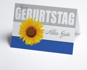 Grusskarte 150861-112 Sonnenblume