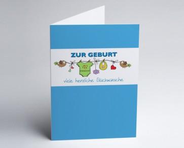Grusskarte 150869-101 Babykarte