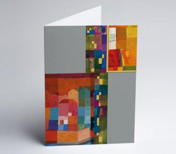Grusskarte 150958-112 Kunst