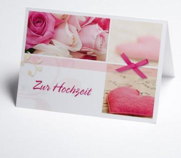Grusskarte 150966-112 Hochzeit