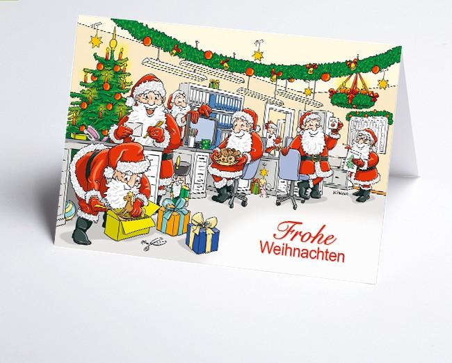 Weihnachtskarte 156537-112 Branche Büro /