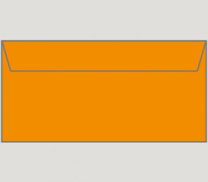 132282 Kuvert selbstklebend in orange, DIN-lang-Format