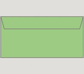 132483 Kuvert selbstklebend in grün, DIN-lang-Format