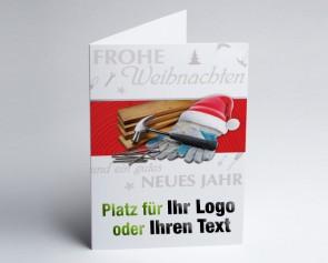 Weihnachtskarte 150220-112 Logo-Branchenkarte Holzbau