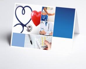Logo-Grusskarte 150298-200 Branche Arzt