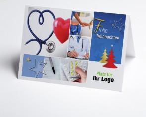 Logo-Weihnachtskarte 150298-190 Branche Arzt