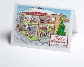Weihnachtskarte 150303-112 Branche Ärztehaus