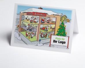 Logo-Weihnachtskarte 150304-112 Branche Ärztehaus