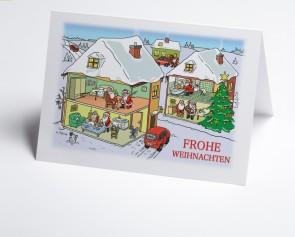 Weihnachtskarte 150305-112 Branche ambulante Pflege