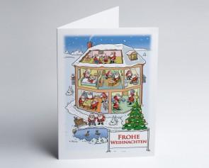 Weihnachtskarte 150307-112 Branche stationäre Pflege