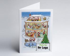 Logo-Weihnachtskarte 150308-112 Branche stationäre Pflege