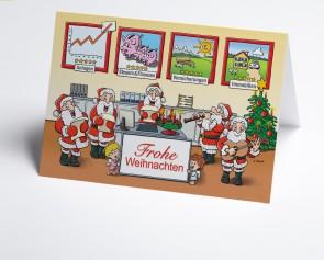 Weihnachtskarte 150412-112  Branche Finanzen