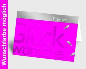 Grußkarte 150971-111 in Ihrer Wunschfarbe