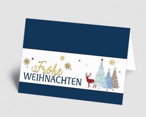 Weihnachtskarte 1519317 Zauberwald