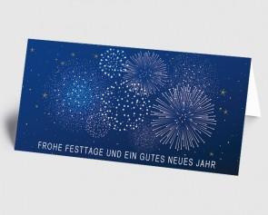 Neujahrskarte 1519326 Feuerwerk zum Jahreswechsel