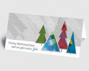 Weihnachtskarte 1519339 Kunst grafisch