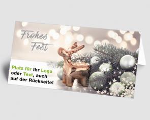 Logo-Weihnachtskarte 1521403 Weihnachtsstimmung