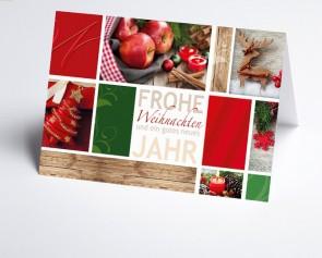 Weihnachtskarte 156501-112 Weihnachtsstimmung