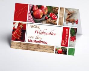 Grüße aus... Weihnachtskarte 156515-113 Weihnachtsstimmung