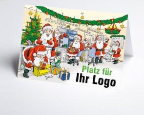 Logo-Weihnachtskarte 156538-112 Branche Büro
