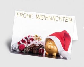 Weihnachtskarte 157503-112 Branche Finanzen